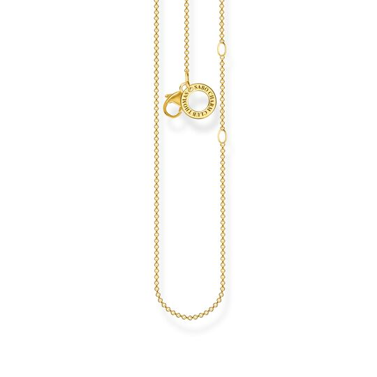Charm necklace gold from the Charm Club collection in the THOMAS SABO online store