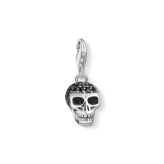 Charm pendant skull pavé from the Charm Club collection in the THOMAS SABO online store