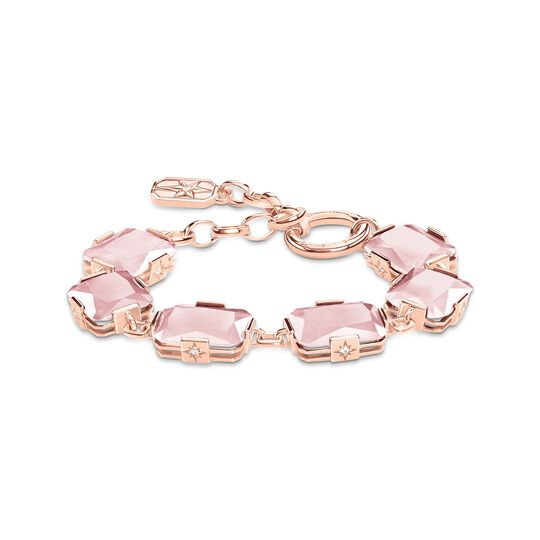 bracelet large pink stones from the  collection in the THOMAS SABO online store