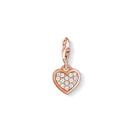 pendentif Charm cœur scintillant de la collection Charm Club dans la boutique en ligne de THOMAS SABO