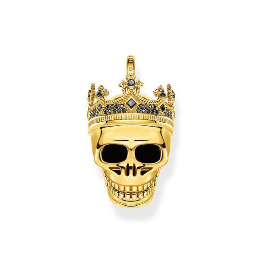 Pendentif tête de mort roi or de la collection  dans la boutique en ligne de THOMAS SABO
