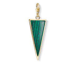 "Charm pendant ""Green triangle"" from the  collection in the THOMAS SABO online store"