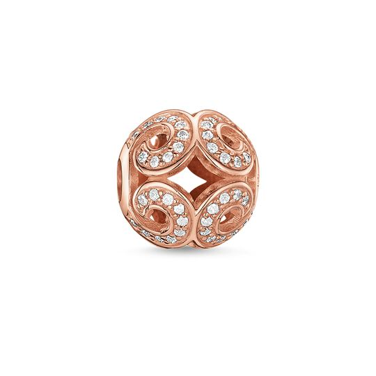 Bead vague scintillante de la collection Karma Beads dans la boutique en ligne de THOMAS SABO