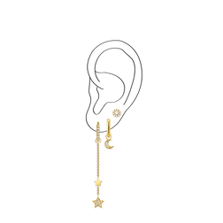 Charm Club Ear Party Look 3 from the  collection in the THOMAS SABO online store