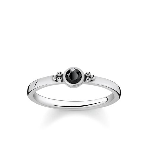 "ring ""Royalty Black Stone"" from the Glam & Soul collection in the THOMAS SABO online store"