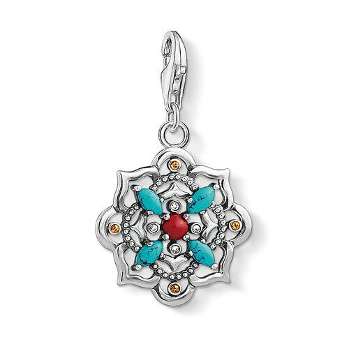 """pendentif Charm """"Fleur de lotus ethnique"""" de la collection  dans la boutique en ligne de THOMAS SABO"""