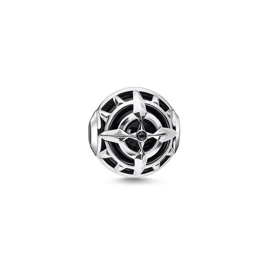 Bead compass black from the Karma Beads collection in the THOMAS SABO online store