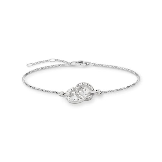 Bracelet Forever Together silver from the Glam & Soul collection in the THOMAS SABO online store