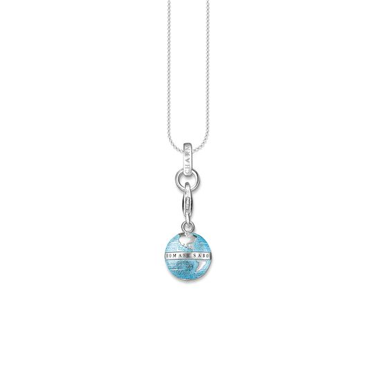 Charm necklace globe from the Charm Club collection in the THOMAS SABO online store