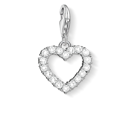 Charm pendant Romantic heart from the Charm Club Collection collection in the THOMAS SABO online store