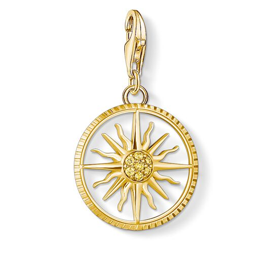 Charm pendant sun small from the  collection in the THOMAS SABO online store