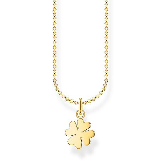 Necklace cloverleaf gold from the Charming Collection collection in the THOMAS SABO online store