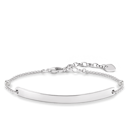 Thomas Sabo personalised bracelet white LBA0040-416-14-L18v Thomas Sabo 1RK0D