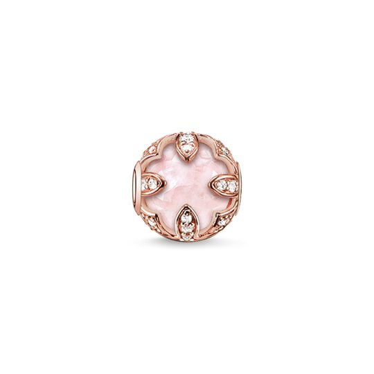 Bead pink lotus from the Karma Beads collection in the THOMAS SABO online store