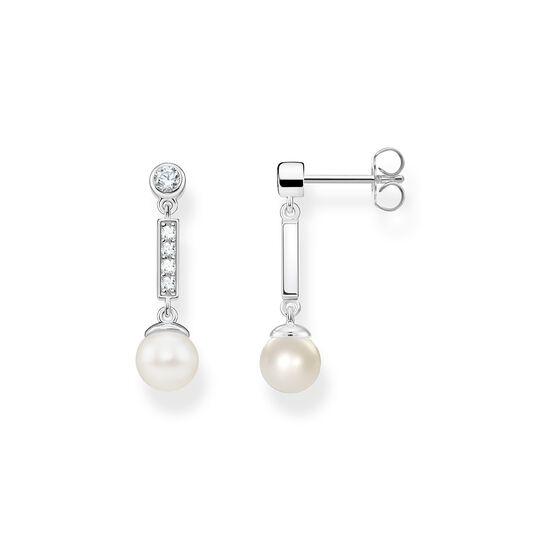 Perlenohrringe aus der  Kollektion im Online Shop von THOMAS SABO