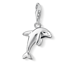 Charm pendant dolphin from the Charm Club Collection collection in the THOMAS SABO online store