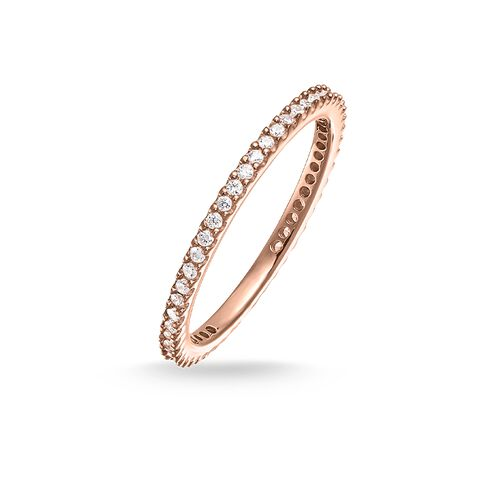 """eternity ring """"pavé"""" from the Glam & Soul collection in the THOMAS SABO online store"""