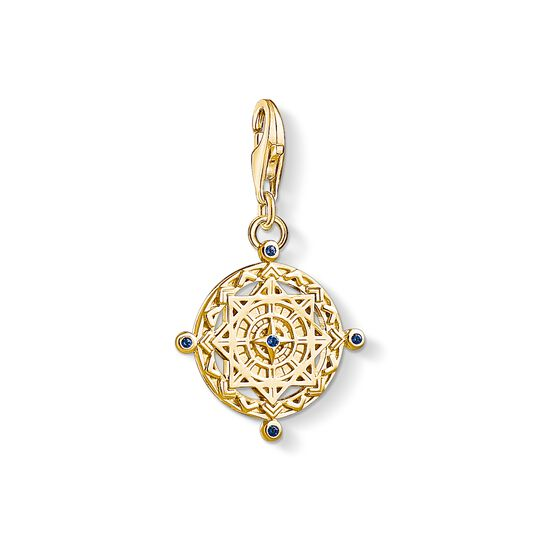 Charm pendant Vintage compass from the Charm Club collection in the THOMAS SABO online store