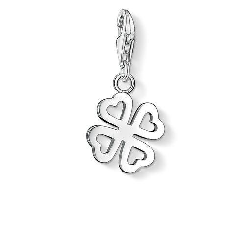 """Charm pendant """"cloverleaf"""" from the  collection in the THOMAS SABO online store"""