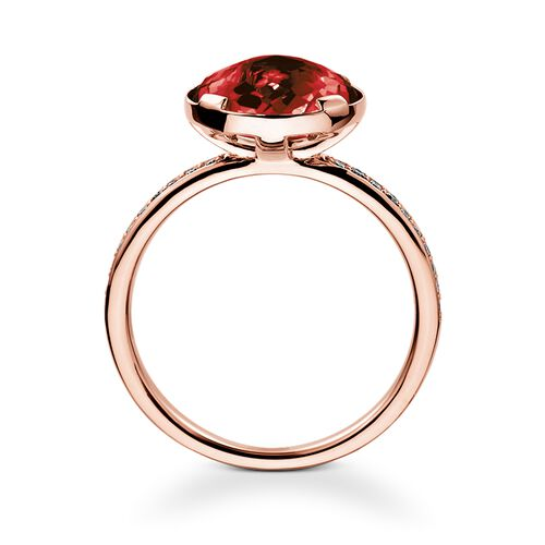 "solitaire ring ""root chakra"" from the Chakras collection in the THOMAS SABO online store"