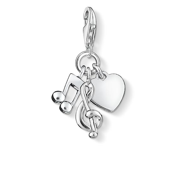 "Charm pendant ""love music"" from the  collection in the THOMAS SABO online store"