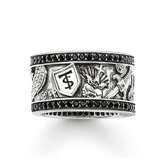 anillo eternity espada de la colección Rebel at heart en la tienda online de THOMAS SABO