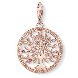 Charm-Anhänger Tree of Love rosé aus der  Kollektion im Online Shop von THOMAS SABO