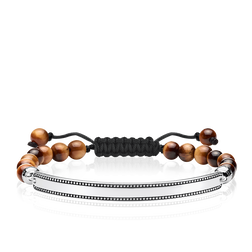 "bracelet ""brown"" from the Love Bridge collection in the THOMAS SABO online store"