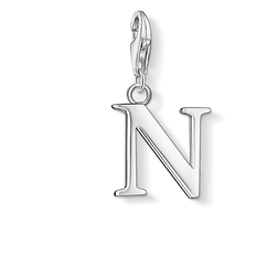 Charm pendant letter N from the Charm Club Collection collection in the THOMAS SABO online store