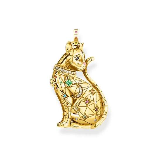 pendant cat constellation gold from the  collection in the THOMAS SABO online store