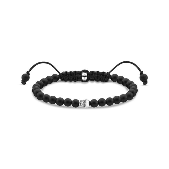 Bracelet black skull silver from the  collection in the THOMAS SABO online store