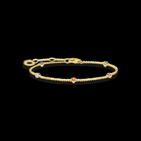 Bracelet Pierres colorées or de la collection Charming Collection dans la boutique en ligne de THOMAS SABO