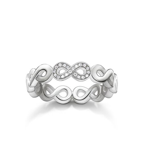 """ring """"infinity"""" from the Glam & Soul collection in the THOMAS SABO online store"""