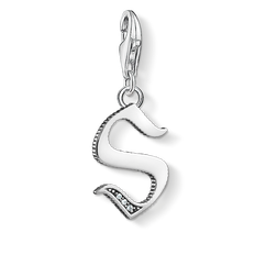 "Charm pendant ""letter S silver"" from the  collection in the THOMAS SABO online store"