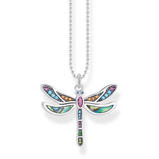 necklace dragonfly silver from the Glam & Soul collection in the THOMAS SABO online store
