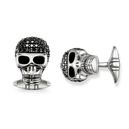 "cufflinks ""diamond skull"" from the Rebel at heart collection in the THOMAS SABO online store"