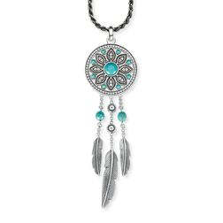 """necklace """"ethno dreamcatcher"""" from the Glam & Soul collection in the THOMAS SABO online store"""