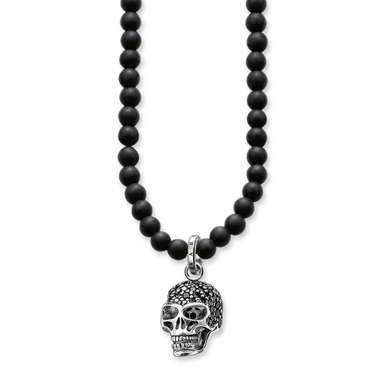 Kette Totenkopf aus der Rebel at heart Kollektion im Online Shop von THOMAS SABO