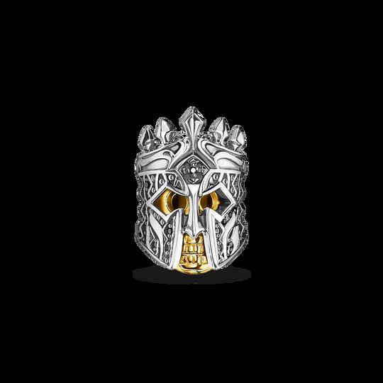 Bead tête de mort chevalier de la collection Rebel at heart dans la boutique en ligne de THOMAS SABO