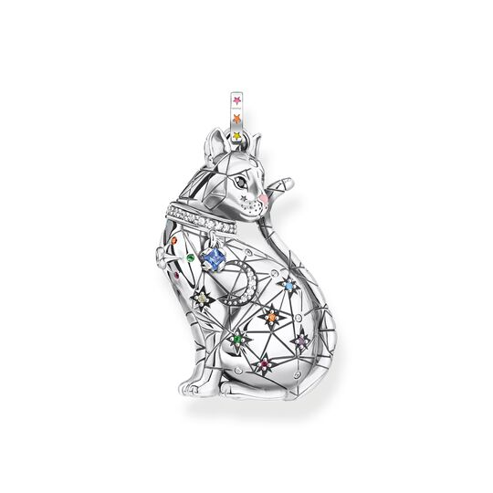 pendant cat constellation silver from the  collection in the THOMAS SABO online store