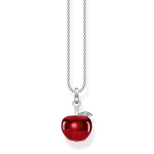 Necklace apple red from the  collection in the THOMAS SABO online store