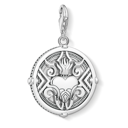 Charm pendant Heart with flames from the  collection in the THOMAS SABO online store