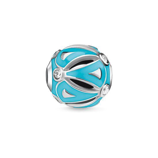 """Bead """"ethnique turquoise"""" de la collection Karma Beads dans la boutique en ligne de THOMAS SABO"""