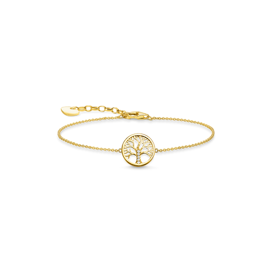 Armband Tree of Love gold aus der Glam & Soul Kollektion im Online Shop von THOMAS SABO