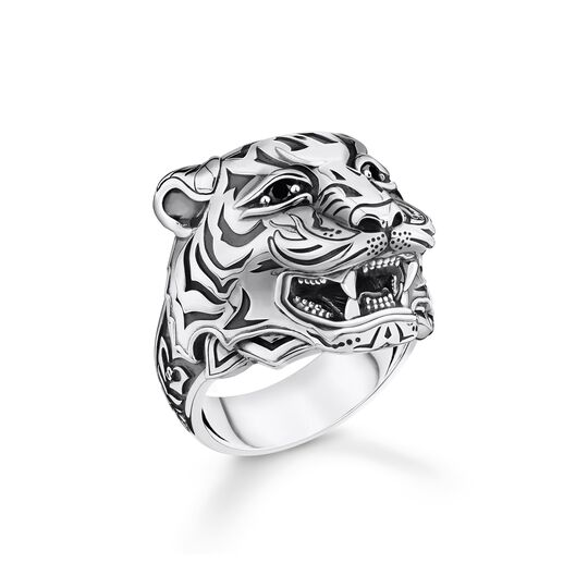 ring tiger silver from the  collection in the THOMAS SABO online store