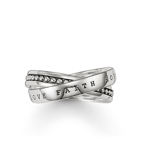 multiple ring faith, love, hope from the Rebel at heart collection in the THOMAS SABO online store