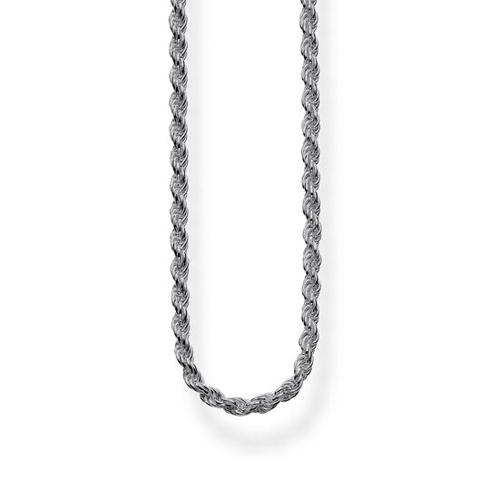 Cord chain blackened from the  collection in the THOMAS SABO online store