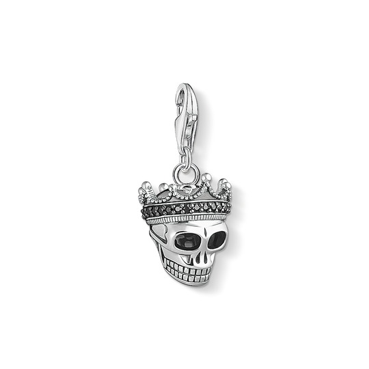 Charm pendant Skull King from the Charm Club collection in the THOMAS SABO online store