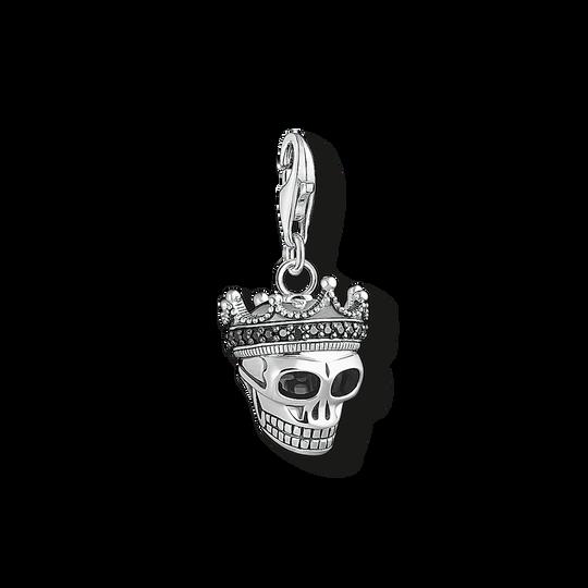 pendentif Charm Tête de mort roi de la collection Charm Club dans la boutique en ligne de THOMAS SABO
