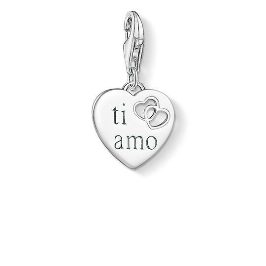 colgante Charm Corazón TI AMO de la colección  en la tienda online de THOMAS SABO